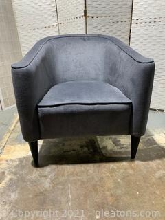Madison Park Velvet Barrel Chair