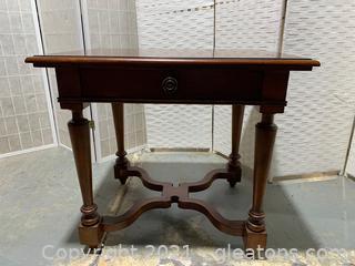 Bernhardt Mahogany Occasional Table W/ Drawer
