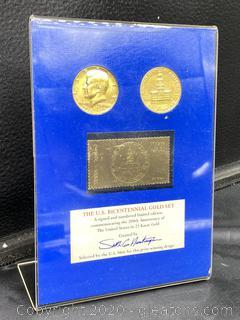 The U.S. Bicentennial Gold Set