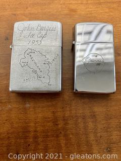 Unique Zippo Lighter & Lighter Casing