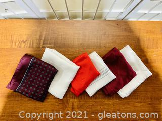 Collection Imported Silk Handkerchiefs