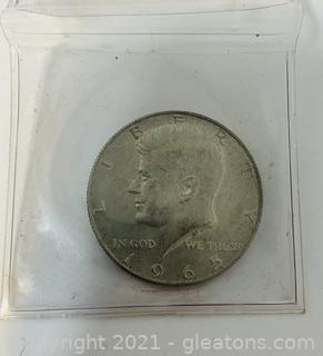 1965 Half Dollar
