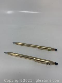 Two Cross Pens
