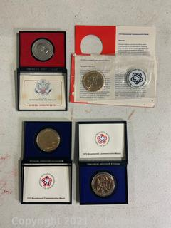 Four Various Medals