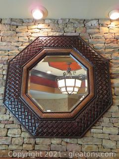 Large Resin Octagonal Mirror
