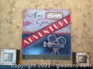 Lot of 4 Movie Items