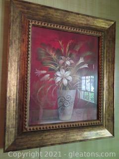 Beautiful Cedar Creek Collection Flowers, Framed