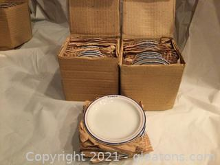 World Airlines Souvenir Roll Plates/Coasters Group of 30