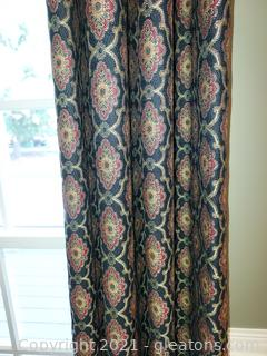 2 Pair of Lovely Window Treatments (only one pictured)