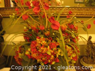 Vibrant Arrangement of Hyacinths and Hydrangeas