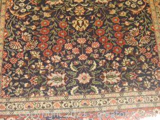 Hand-Knotted 100% Wool Area Rug From Islamabad