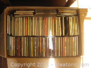 Full Box of Varied Genre CDs