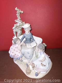 """Gorgeous Lladro """"Family Roots"""" Retired 2007"""
