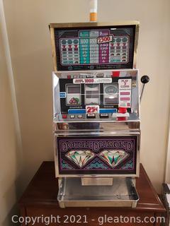 Retro IGT Double Diamond Slot Machine