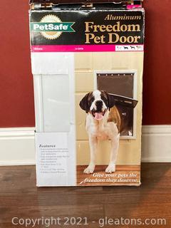 Pet Safe Aluminum Freedom Pet Door
