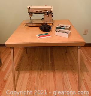 Singer 404 Slant Needle Sewing Machine