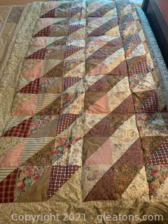 Queen Down Inspired Reversible Comforter and Accessories