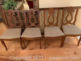 Very Nice Upholstered Side Chair (Lot of 4)
