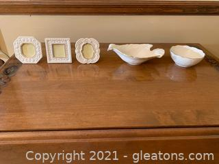 Delightful Lenox China Pieces (Lot of 5)