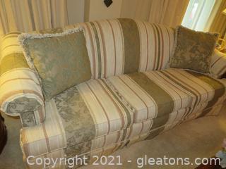 Charming Camelback Sofa