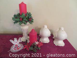 Lot of 5 Christmas Items