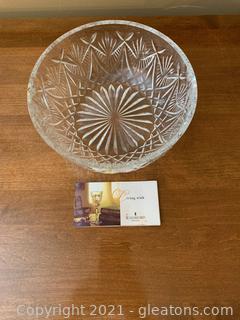 Beautiful Waterford Crystal Bowl