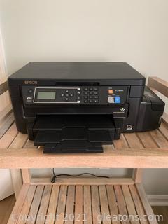 Black Epson ET-3600 Printer
