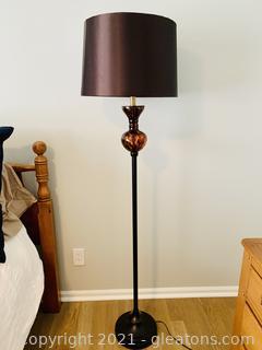 Stunning Bronze Floor Lamp