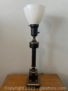 Tall Torchiere Table Lamp