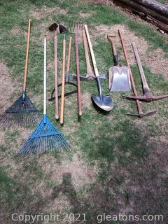 Lot of Useful Garden Tools