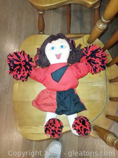 """Cheerful """"A Gambia Doll"""" Cheerleader"""