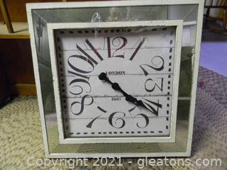 Beautiful Square Wall Clock