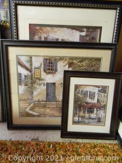 Café Themed Framed Prints
