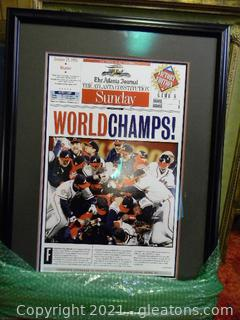 Braves World Champs: Victory EditionBraves World Champs Photo , Game 6 (AJC/Constitution)