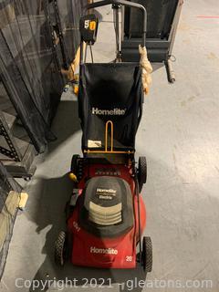 "Homelite 20"" Electric Lawn Mower"