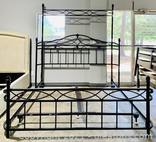 Metal King High Head Board, Bed Frame