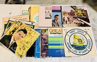 Sounds of Faith Spiritual and Hymn Records Lot of 20 Albums