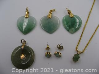 Green Gemstone Lot