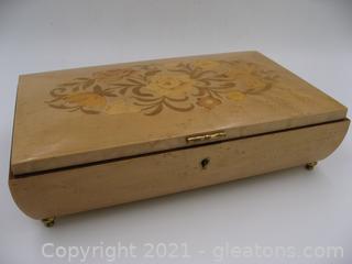 Beautiful Jewelry Music Box