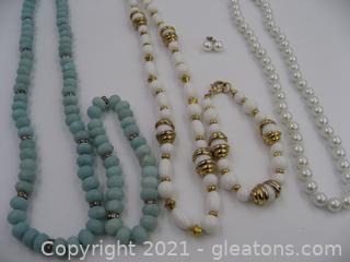 Beaded Costume Jewelry