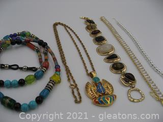 Colorful Costume Jewelry Lot