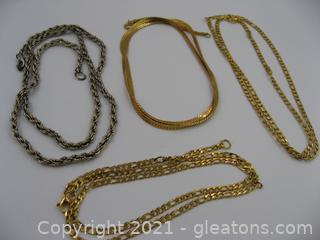 Costume Chain Lot