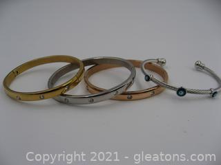 4 Ladies Costume Bracelets