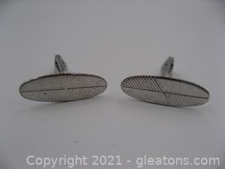Nice Sterling Silver Cufflinks