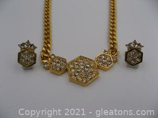 Costume Necklace & Earring Set