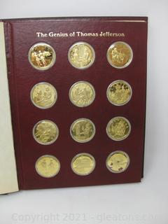 The Genius of Thomas Jefferson 12 Coin-1st Edition Proof Set