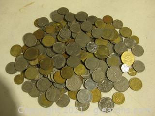 Large Lot of Foreign Coins (B)