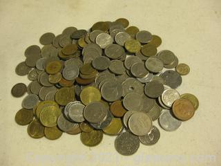 Large Lot of Foreign Coins (A)