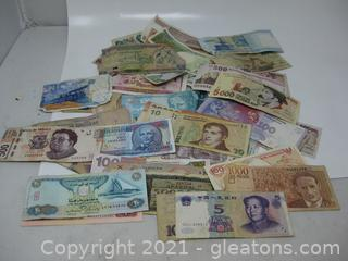 Paper Money From Various Foreign Countries (B)