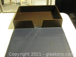 Presidential Medals Wooden Collection Storage Box